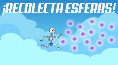 Recolecta esferas – Skull Game