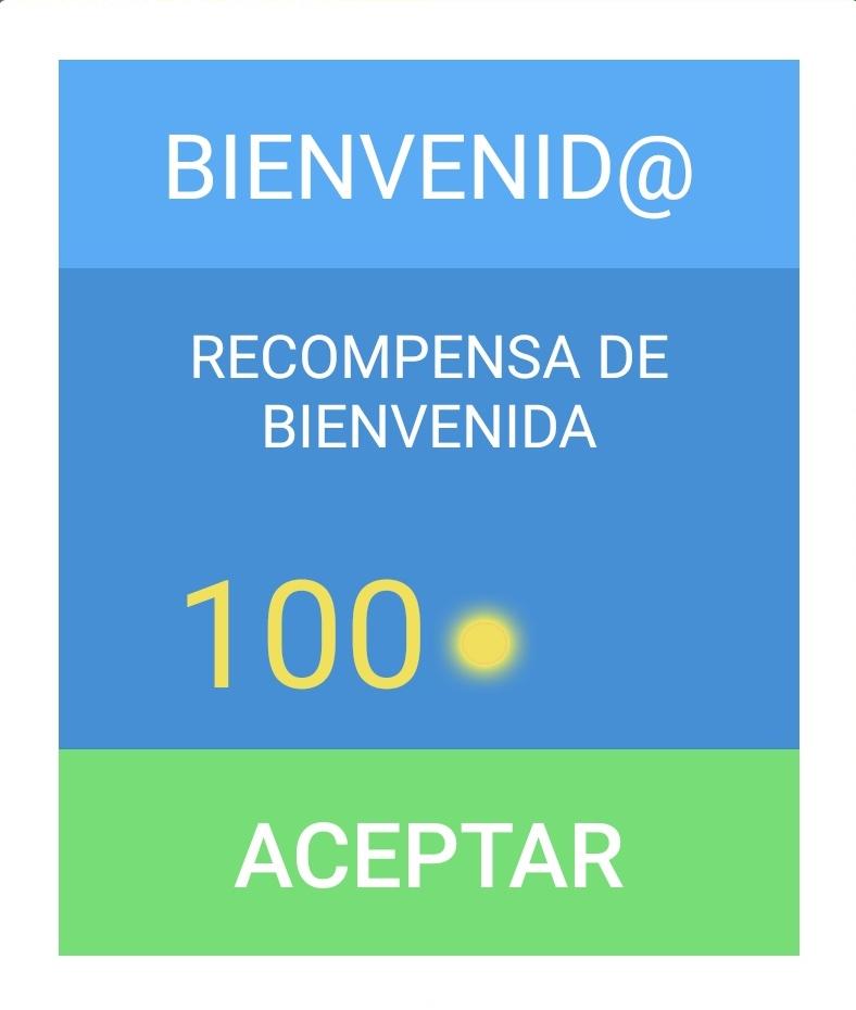 Recompensa Bienvenida - Canta Bingo